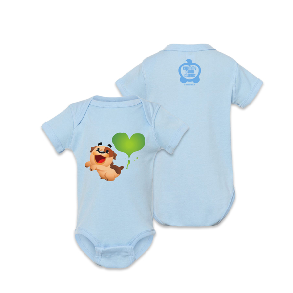 Bubba Fart Light Blue Onesie
