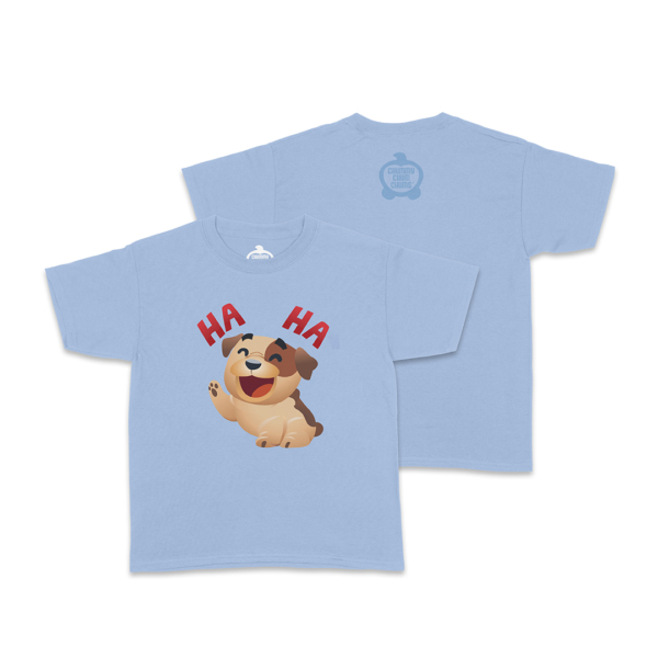 Bubba Laugh Light Blue Toddler Shirt