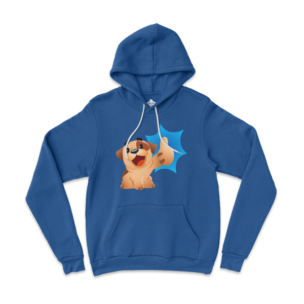 Bubba Thumbs Up Unisex Royal Blue Pullover Hoodie