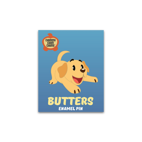 Butters Enamel Pin