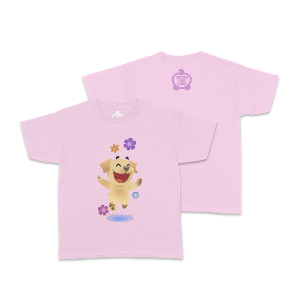 Butters Flowers Light Pink Toddler Shirt