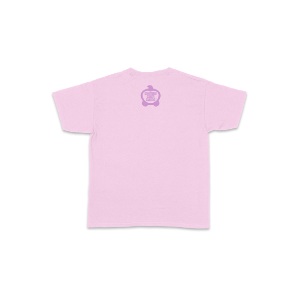 Butters Flowers Light Pink Toddler Shirt Back