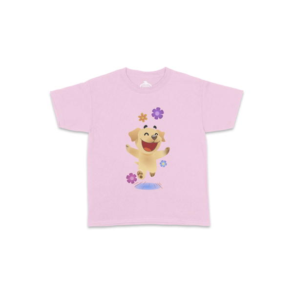 Butters Flowers Light Pink Toddler Shirt Front