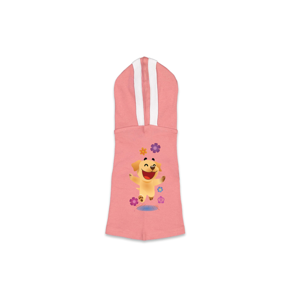 Butters Flowers Pink Dog Hoodie