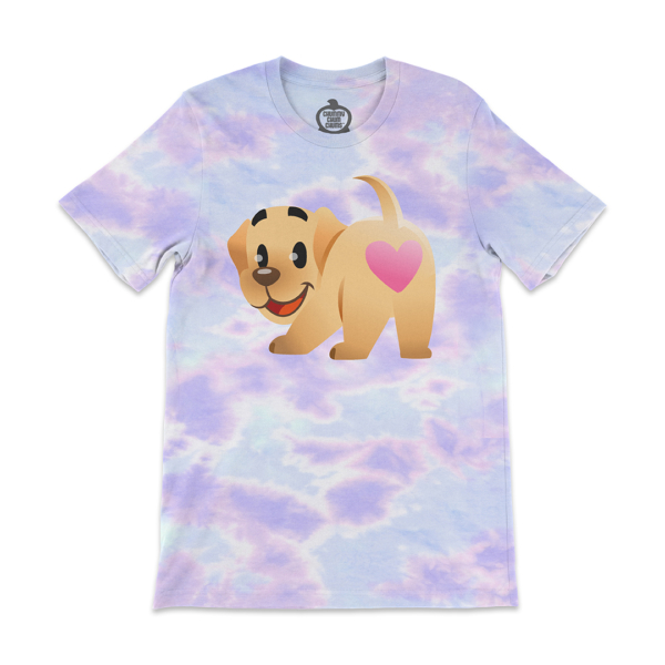 Butters Heart Butt Pastel Tie Dye Unisex Shirt