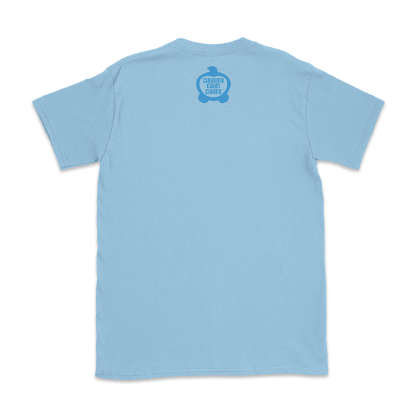 Butters Wave Light Blue Unisex Shirt Back